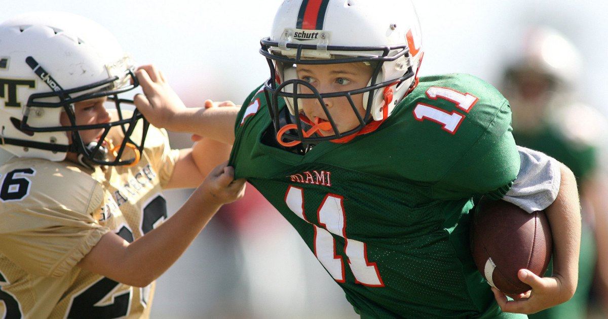 Youth Tackle Football Participation >> Scientists Were Already Concerned About Kids Playing Tackle Football