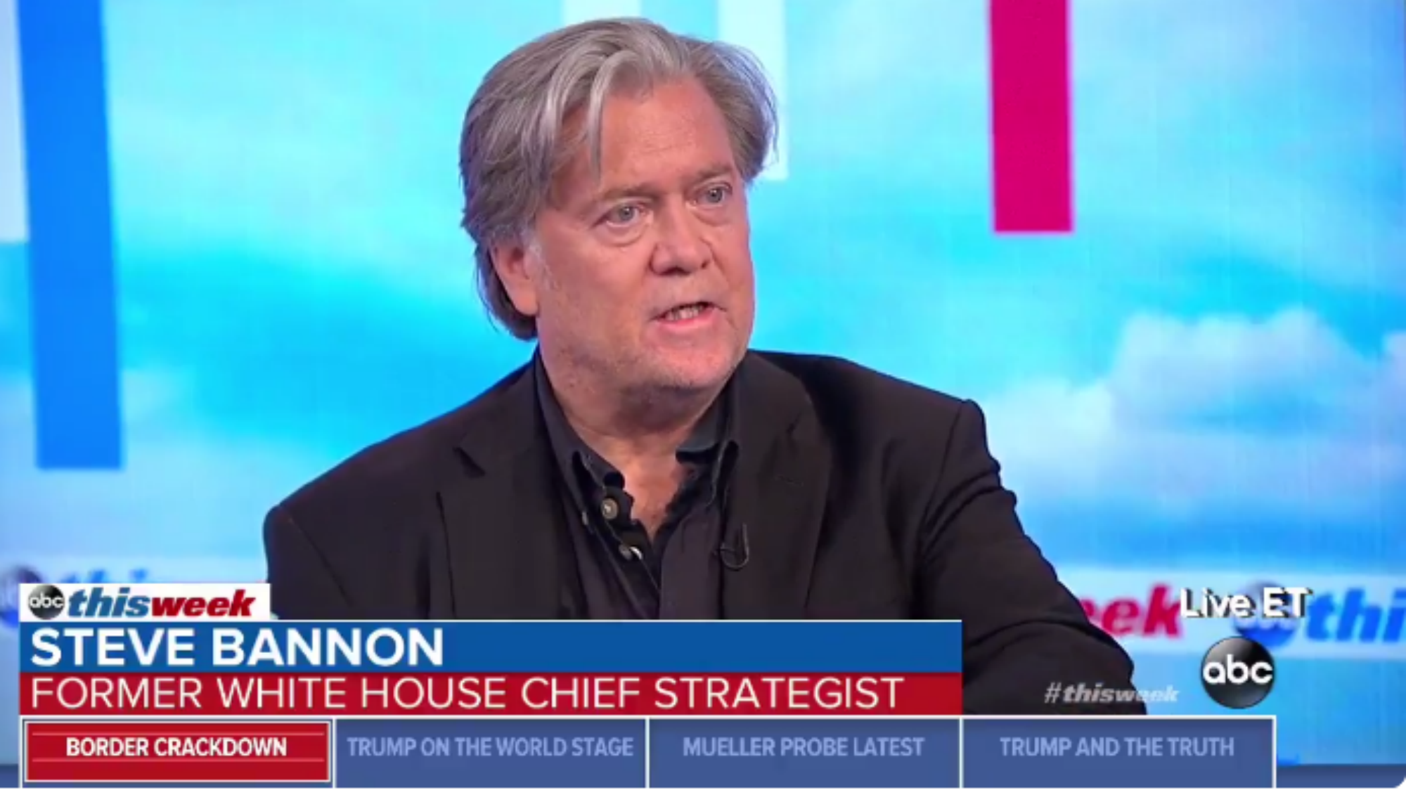 Bannon on migrant family separation: Zero tolerance doesn't have to be justified