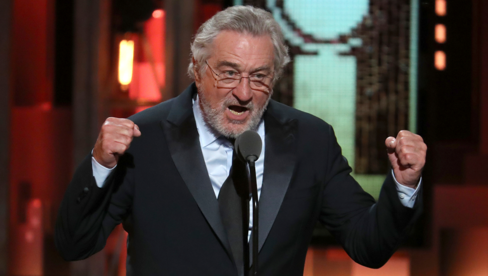 Image result for de niro fuck trump