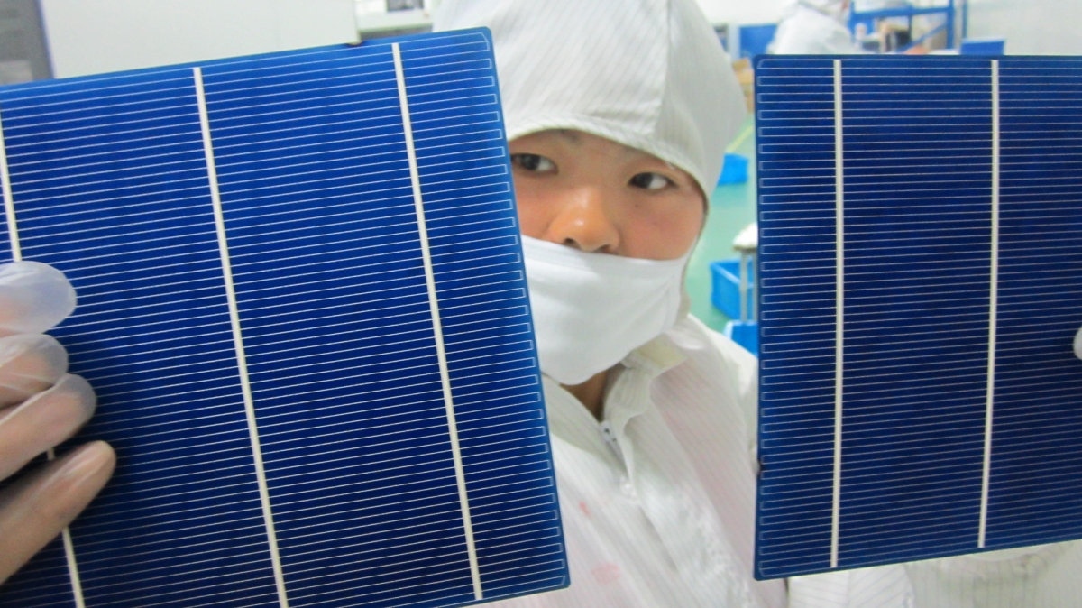 Solar is the future. Donald Trump tied a bow on it and gave it to China.