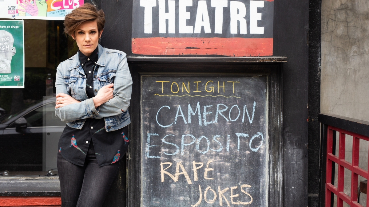 With Rape Jokes Cameron Esposito Turns The Lowest Form Of Comedy