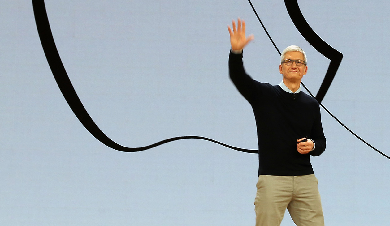 Apple's Tim Cook says he's spending too much time with his phone
