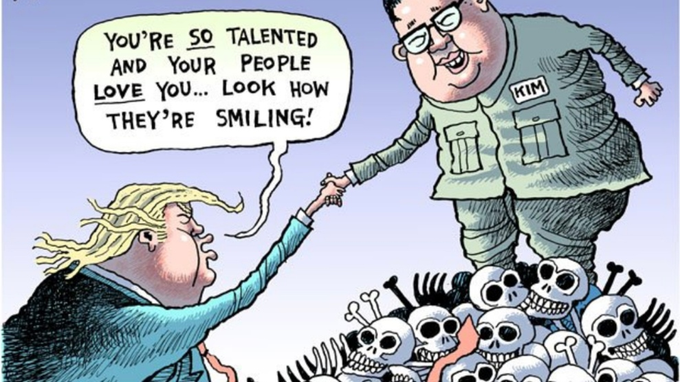 Here Are 4 Hard Hitting Cartoons A Pro Trump Newspaper Tried To