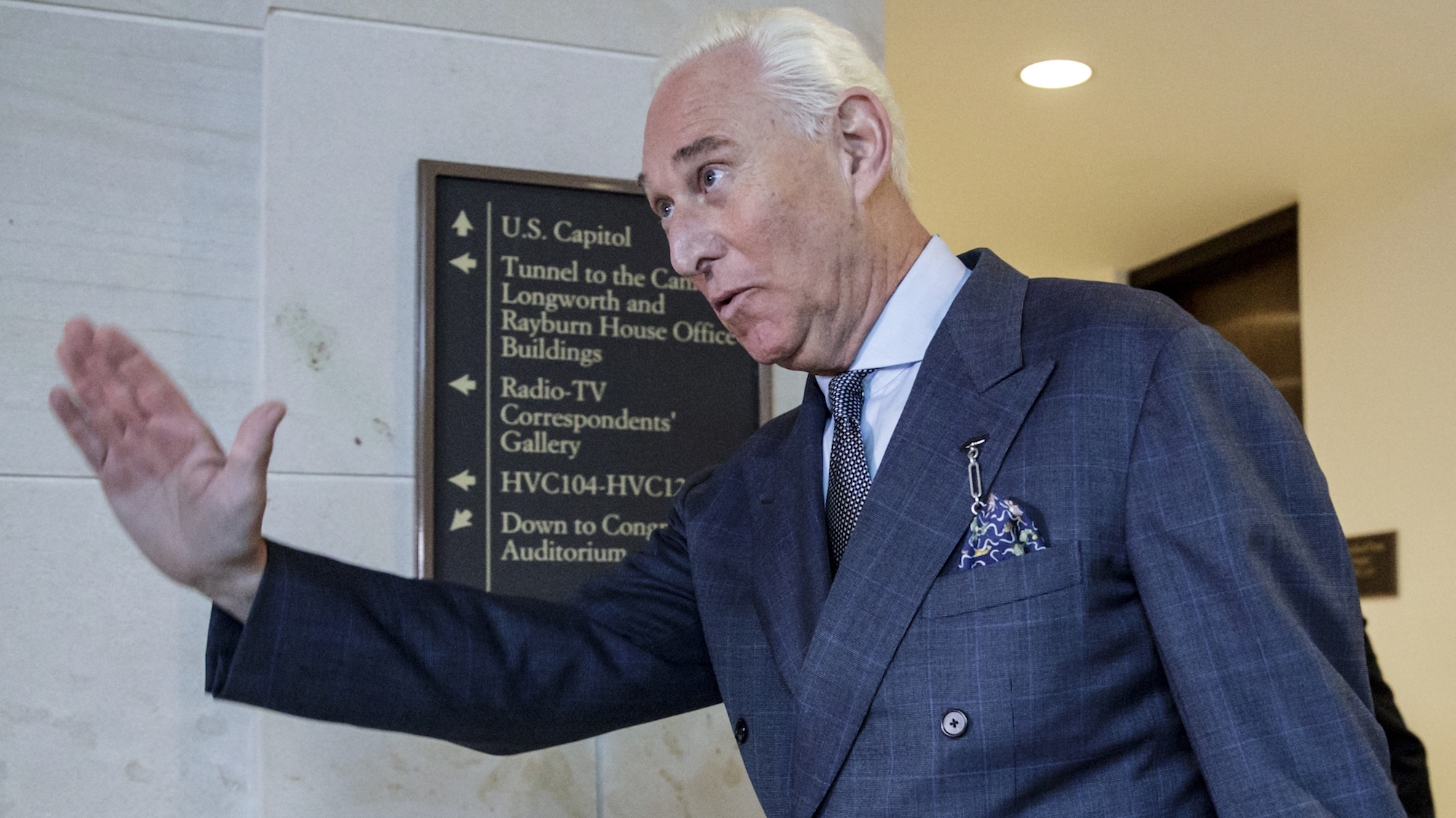 Roger Stone Met Russian National Who Promised Hillary Clinton Dirt, Blames FBI