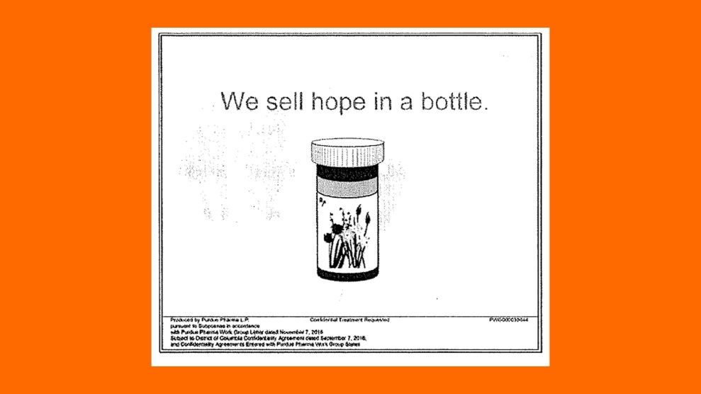 Purdue Pharma marketed opioids as