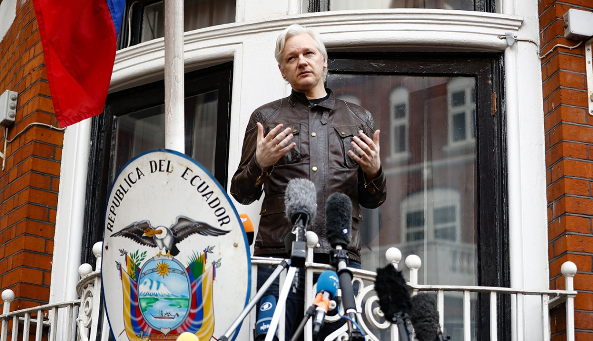 motherjones.com - Kevin Drum - Ecuador may be getting ready to release Julian Assange