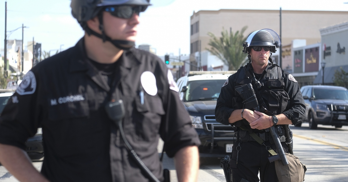 California Cops Shot and Killed 162 People Last Year  This