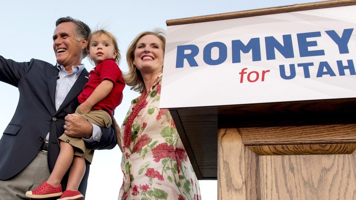 Mitt Romney covers breaking news!