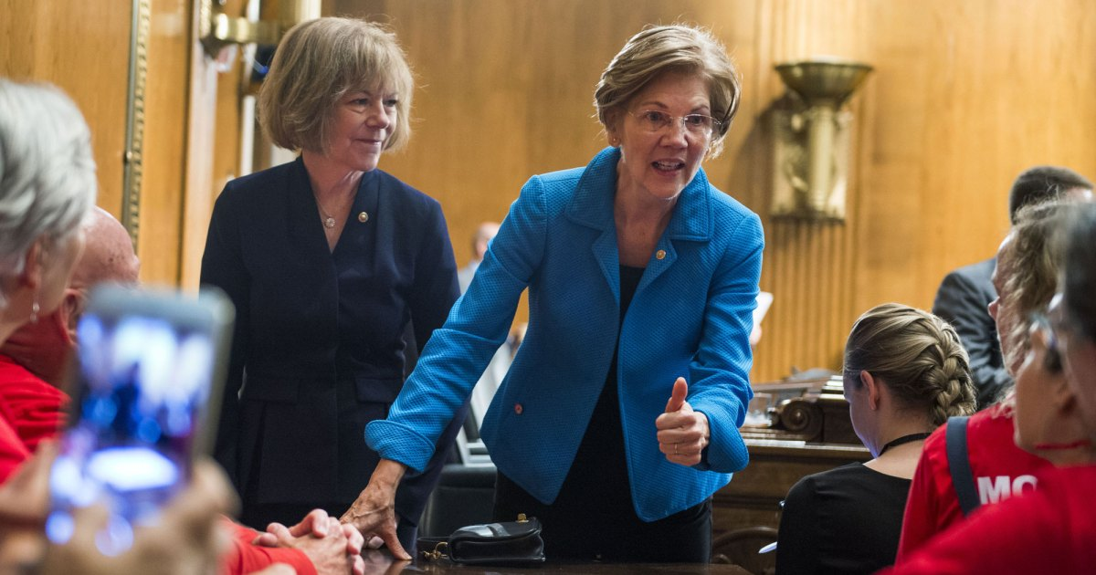 Elizabeth Warren says she might run for president in 2020