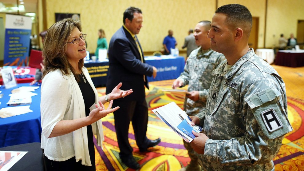 Cash Bonuses and Waived Drug Tests Couldn't Help the Army