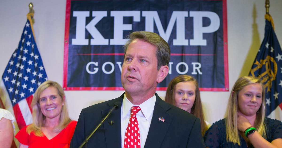 Georgia's Republican candidate for governor is blocking 53,000 voter registrations