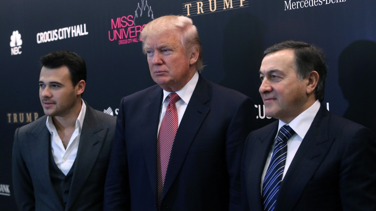 US Banks Closed Accounts Tied to Former Trump Business Partner Aras Agalarov