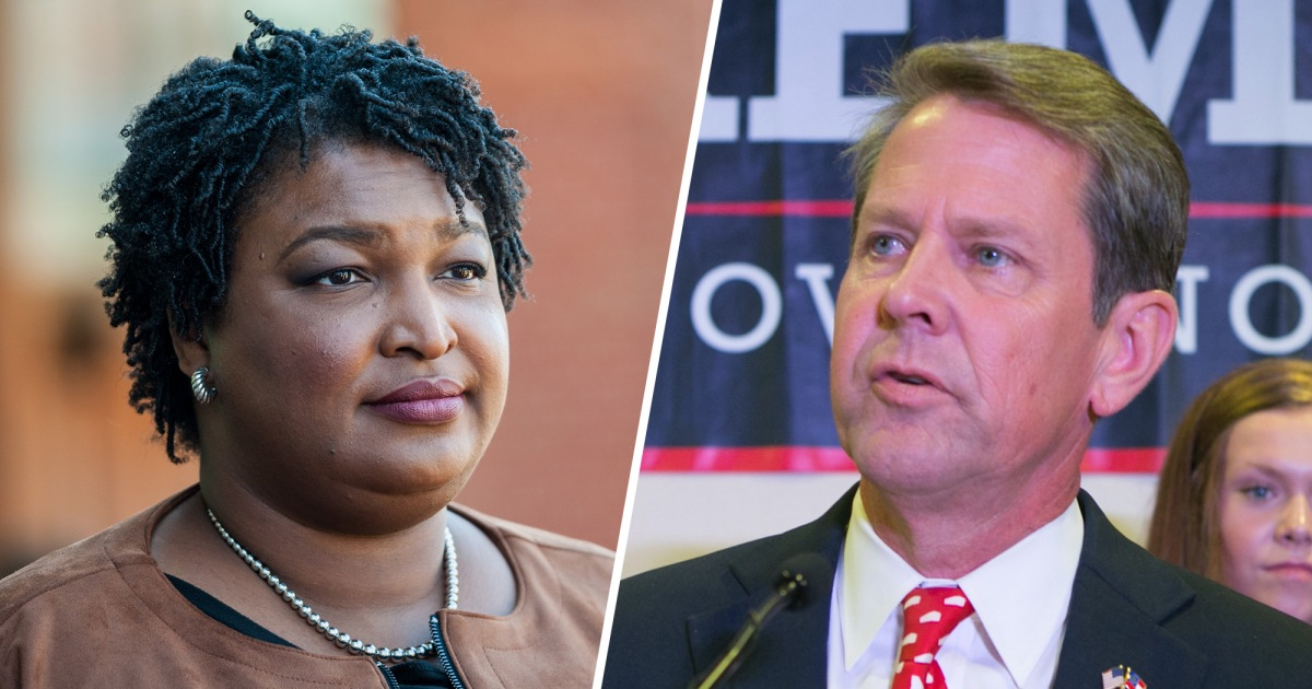 photo image Abrams Appears Headed for a Loss in Georgia Governor's Race, but She's Not Giving Up Yet