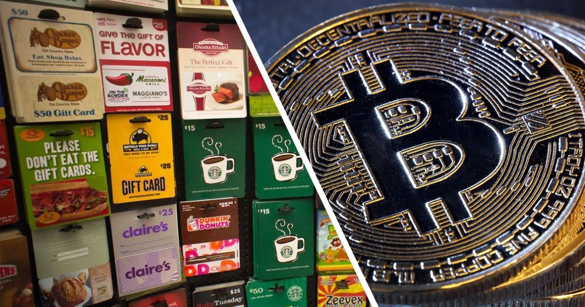 Buy Gift Cards - Featured Cards - Bitcoin