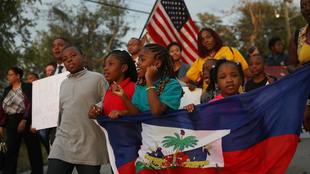 Trump Is Trying to Deport Haitian Immigrants. They're Fighting Back. –  Mother Jones
