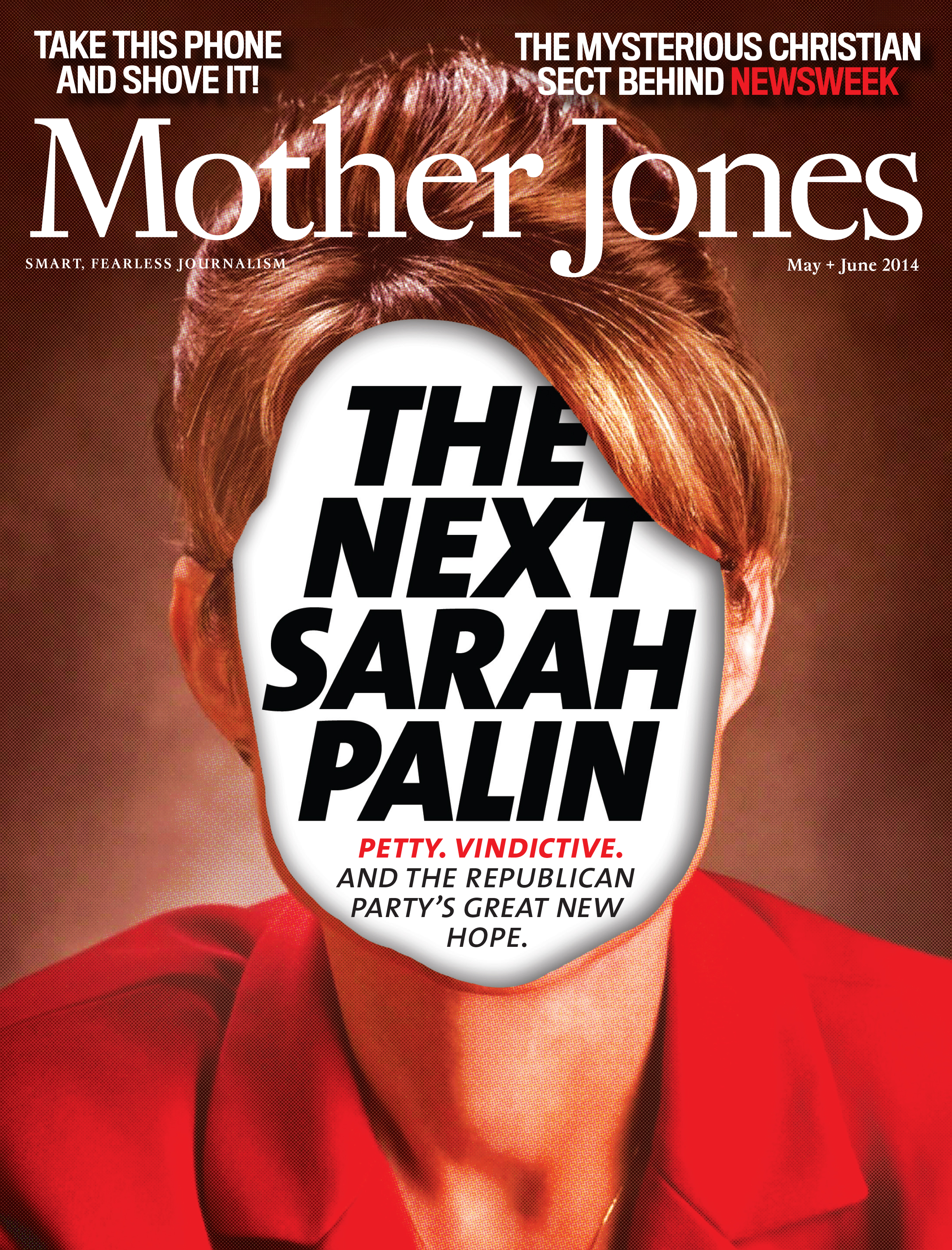 Mother Jones Magazine Cover : May + June 2014