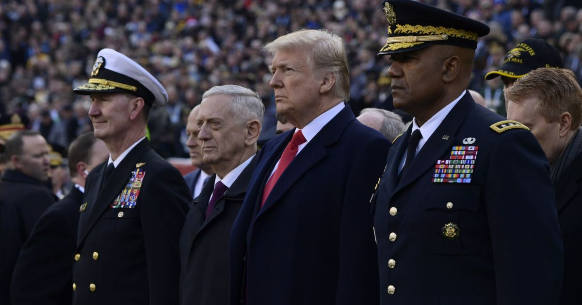 Trump Is Forcing Mattis Out Two Months Earlier Than Planned