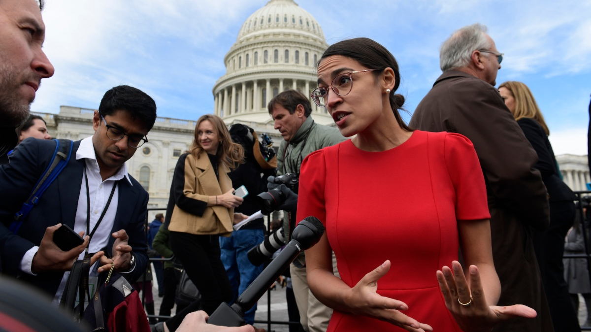 How a Compromise on Alexandria Ocasio-Cortez's Green New Deal Paves the Way Forward for Progressives