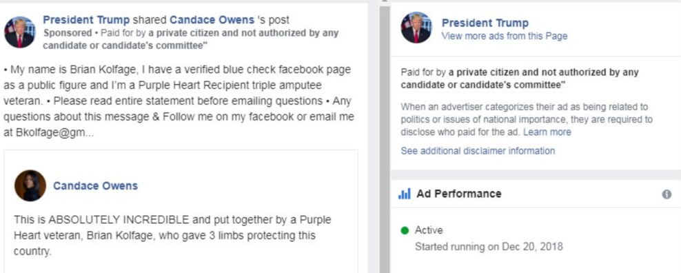 Facebook Let These Misleading Advertisers Promote the Border Wall