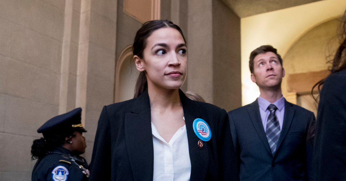 Alexandria Ocasio-Cortez Hunting Down Mitch McConnell Is the Meme I Need Today