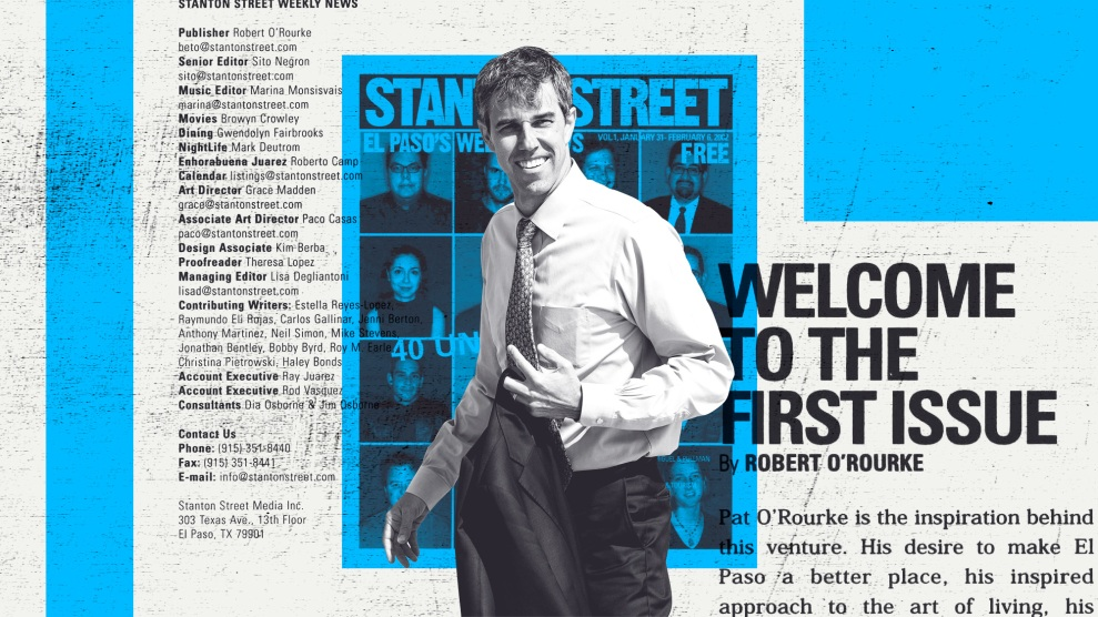The Inside Story of Beto O'Rourke's Short-Lived Alt-Weekly