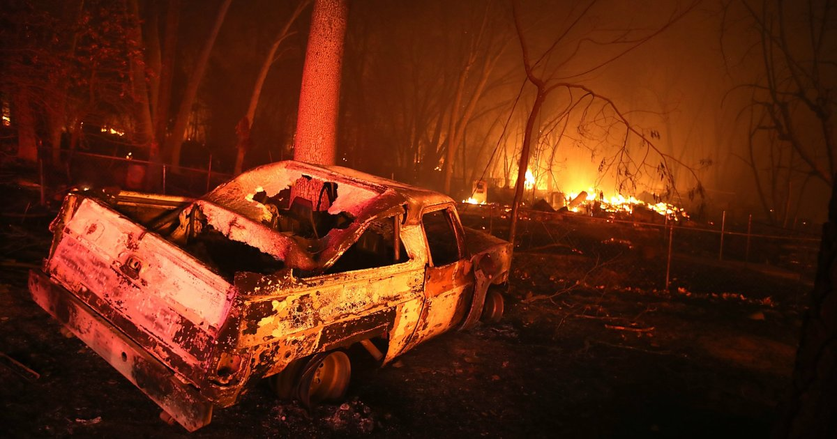California S Camp Fire Was The World S Costliest Natural