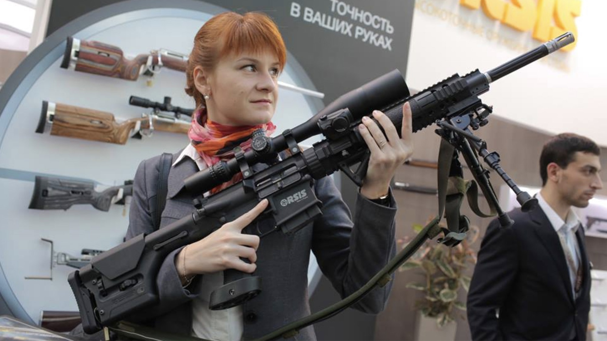 69998daa274d The NRA Welcomed Maria Butina—Even As She Worked to Arm Anti-American Thugs  Abroad