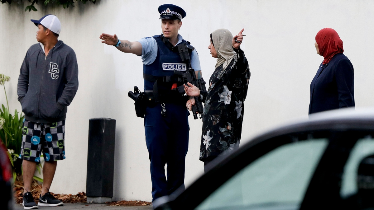 Shooting Nz Image: New Zealand Attack Underscores Social Media Sites