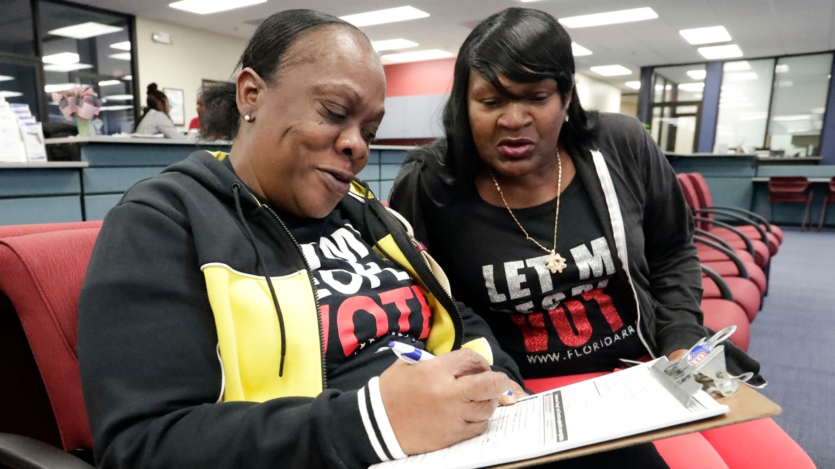Florida Gave Former Felons the Right to Vote. Legislators Want Them to Pay First.