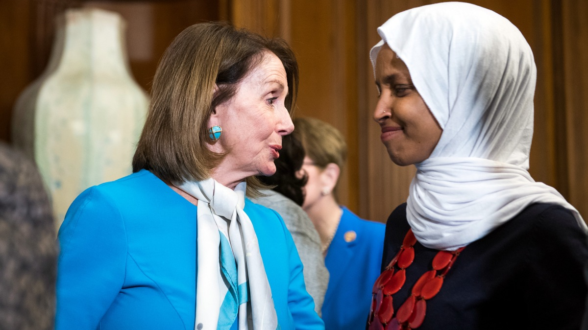 pelosi condemns trump u2019s 9  11 attack on ilhan omar  his