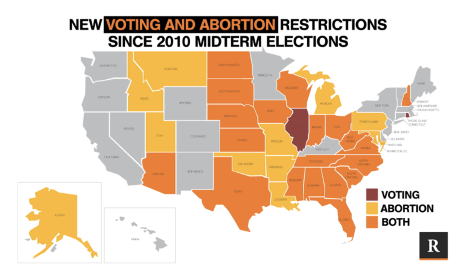 How Gerrymandering and Voter Suppression Paved the Way for Abortion Bans