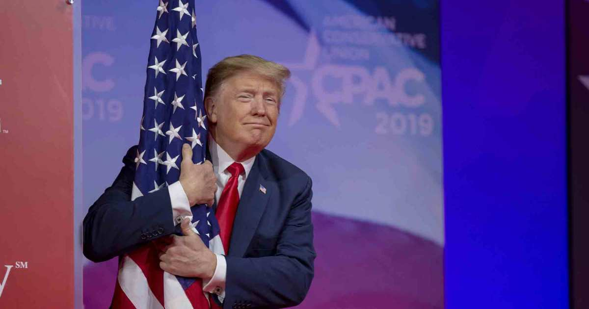 Donald Trump thinks the Fourth of July needs much more Donald Trump
