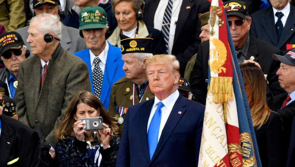 d403f39475e1 On the 75th Anniversary of D-Day, Trump Obsesses Over Media Coverage ...