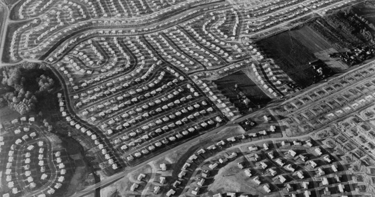 Suburbs Aren't Only Conformist, White-Bread Clichés. They've Also Been Radical, Green, and Visionary.