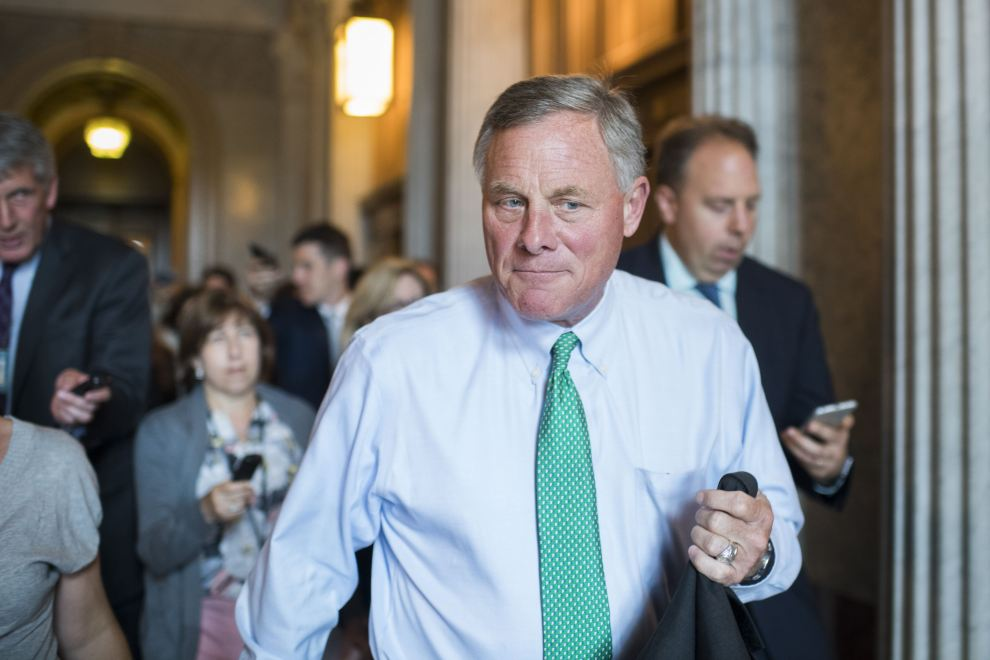 Is Sen. Richard Burr Investigating Trump's Russia Ties—or Helping to Cover Them Up?