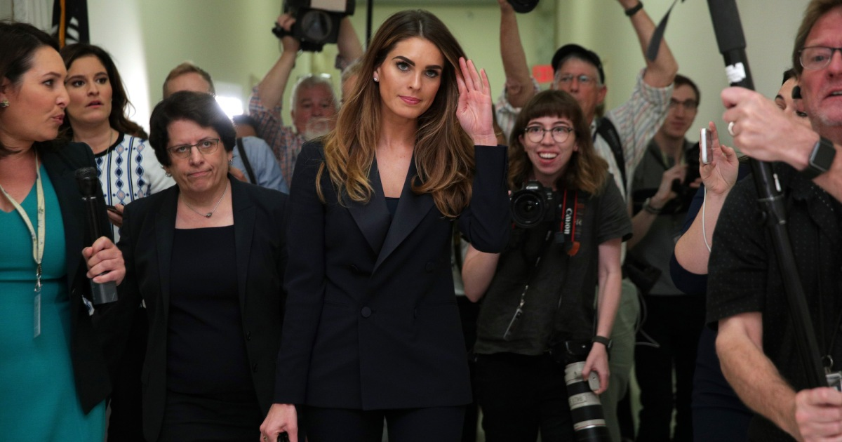 Prostitution rumors or porn star payoffs: What was Hope Hicks really talking about?