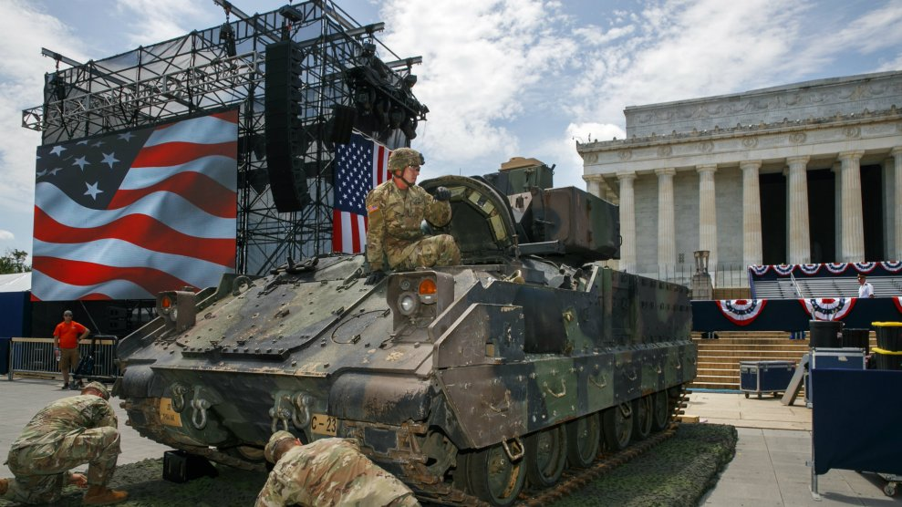 Pentagon Guidance To Troops In Trump S July 4th Event Say I Love My