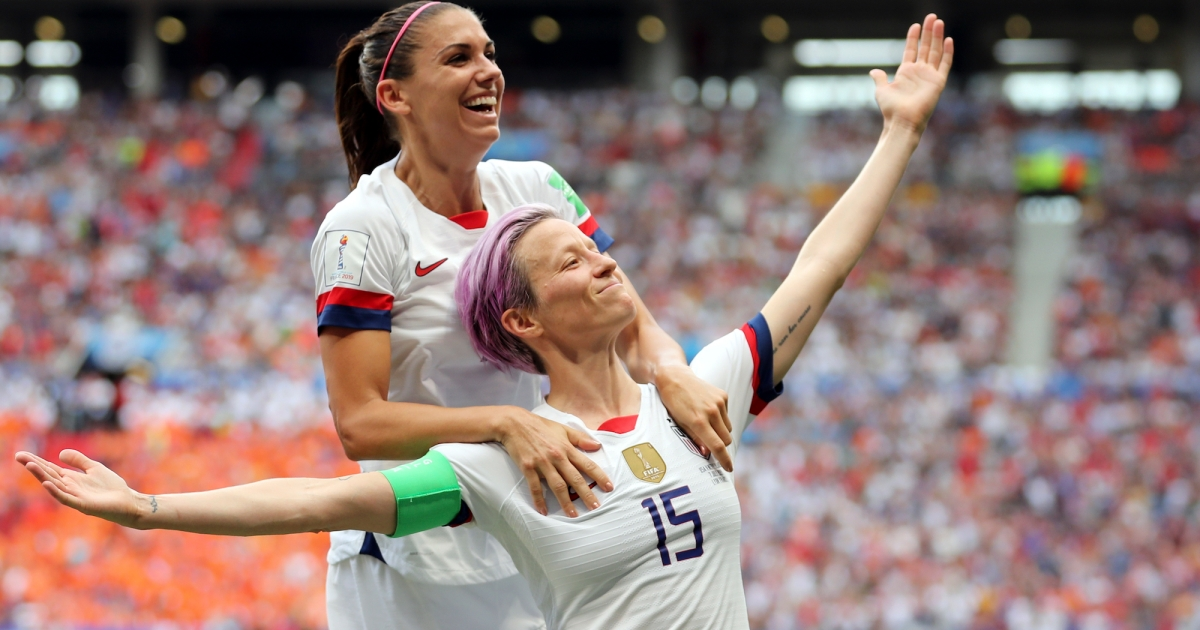 As US Women's Soccer Team Clinches World Cup, Fans Demand ...