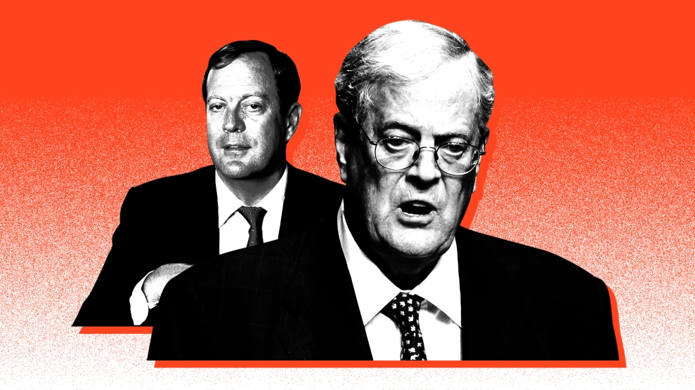 Charles David Koch We Know Who You Are >> Remembering The Two David Kochs Mother Jones
