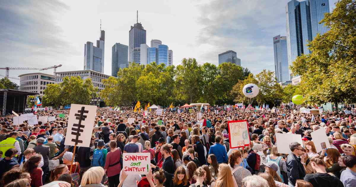 You've got to see these inspiring photos to understand the scale of today's global climate strikes