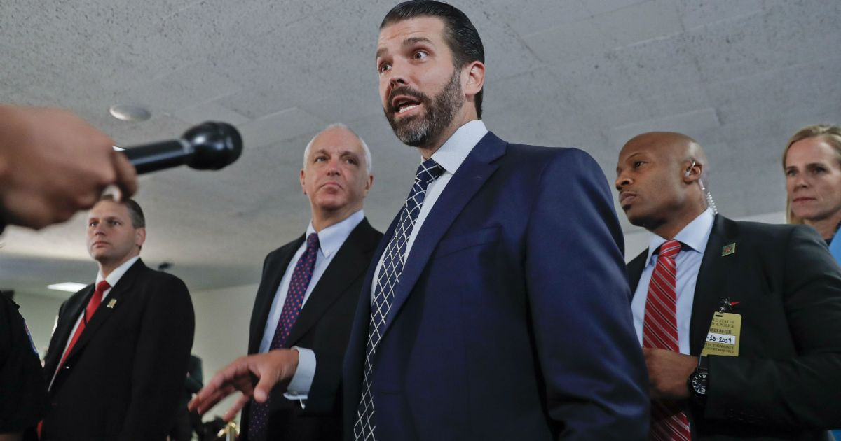 "Donald Trump Jr. Is Outraged by Hunter Biden's ""Conflict ..."
