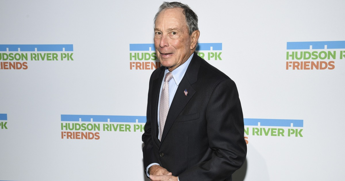 photo image Will Michael Bloomberg Release His Tax Returns if He Runs for President?