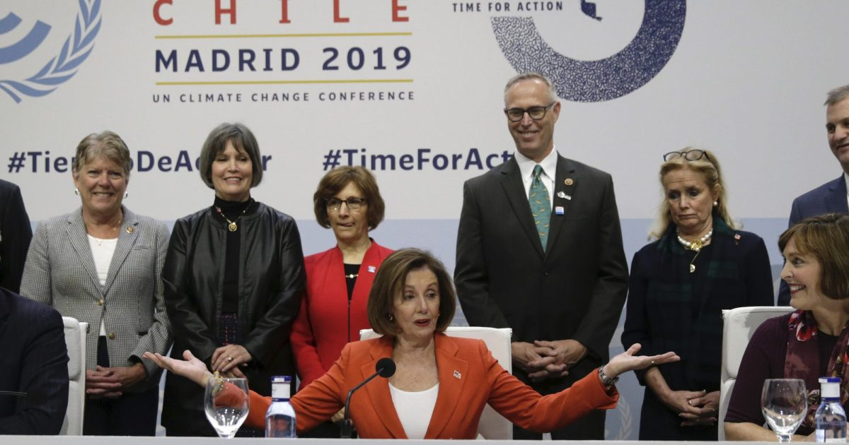 Democrats from Congress Tried to Reassure World Leaders at the UN Climate Summit