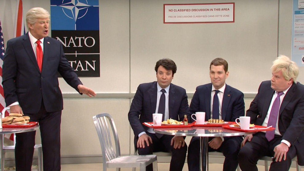 Alec Baldwin, Jimmy Fallon, Paul Rudd, and James Corden.