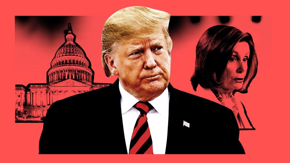 The Inevitability Of Donald Trump S Impeachment Mother Jones