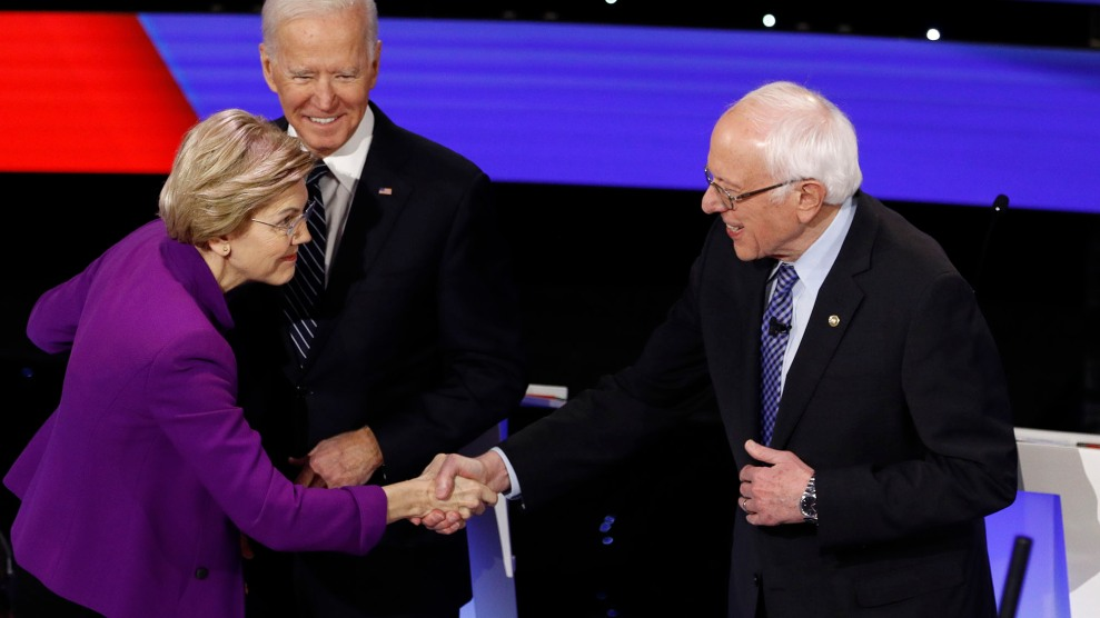 Image result for photos of warren and sanders