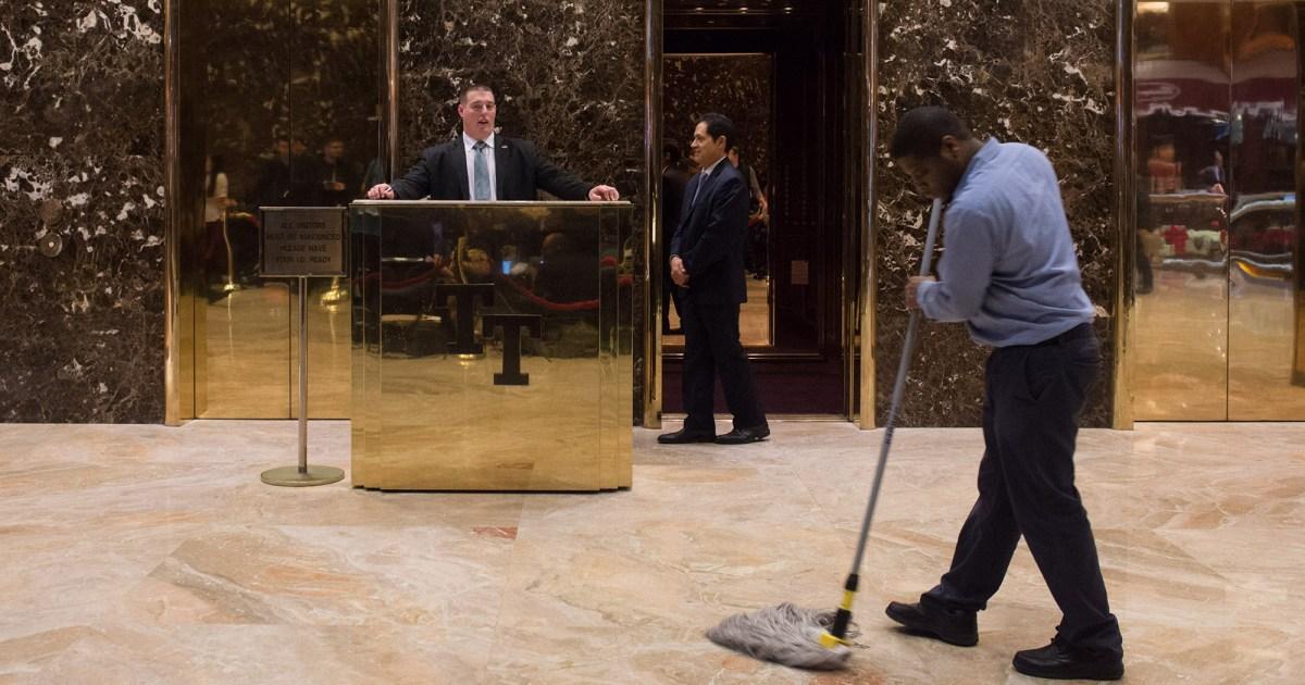 Trump to City: Mop Dead
