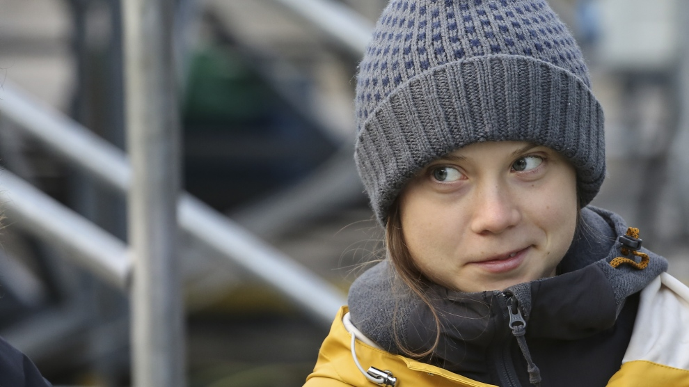 Greta Thunberg Just Dropped a Truth Bomb in the Punchbowl at Davos