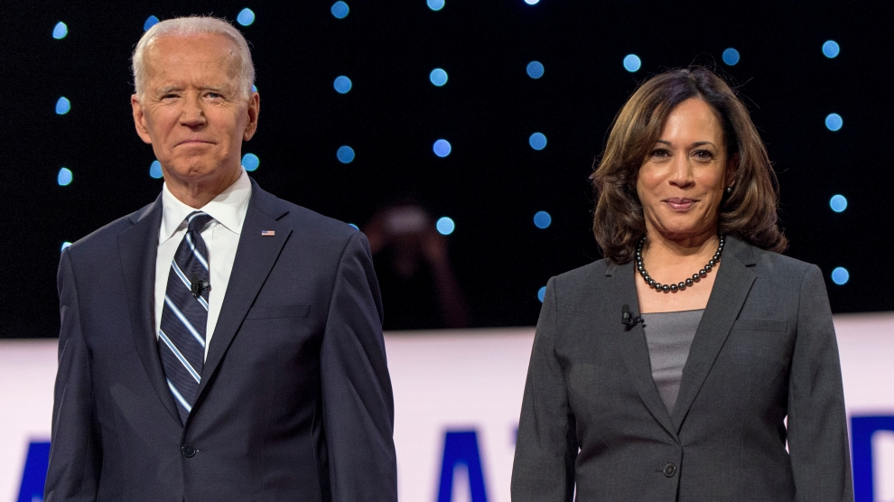 Kamala Harris Endorsed Joe Biden This Morning – Mother Jones