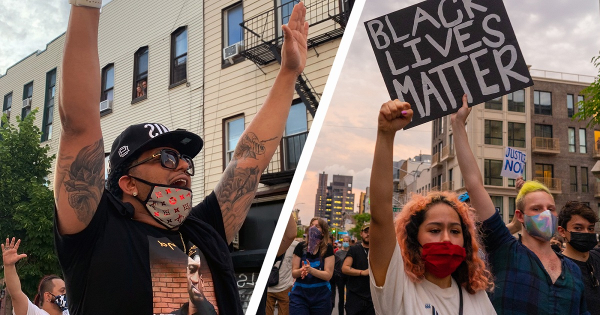 """Finally We're Starting to See People Care"": Hundreds Peacefully Defy Curfew in Brooklyn to Demand Justice"